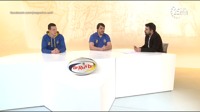 Dia E 2a part - Compte enrere per a l'Europeu sub-18 de rugbi i l'FC Andorra a només 4 punts del líder