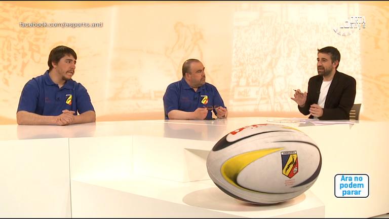 Dia E 2a part - Dani Raya i Felip Gallardo fan balanç de l'Europeu de rugbi sub-18