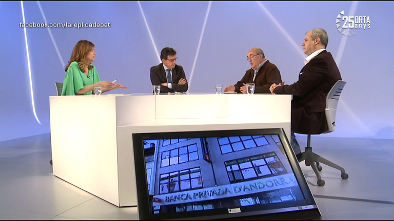 Tertúlia política i econòmica amb Xavier Altimir, Josep Anton Silvestre i Gualbert Osorio