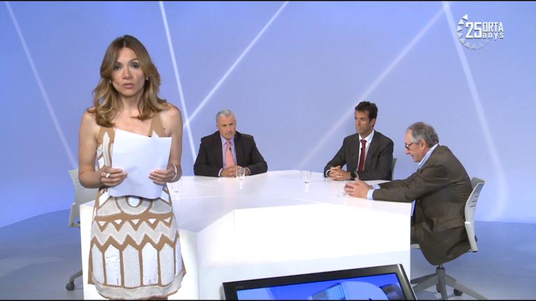 Tertúlia amb Josep Maria Cabanes, Joan Massa i Antoni Bisbal