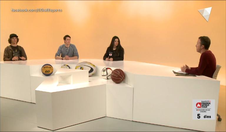 Dia E 2a part - Els 'freeriders' Tomi Moreno, Pep Naudi i Naila Vidal