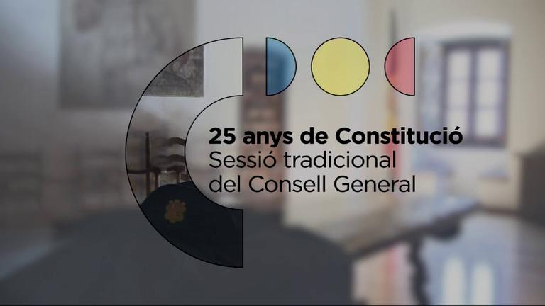 Sessió Tradicional Consell General - 25 anys de Constitució
