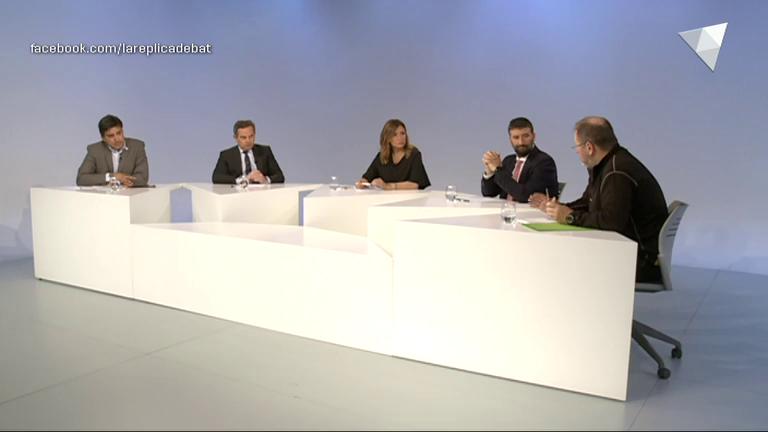Tertúlia amb Esteve Vidal, Valentí Martí, Jordi Font i David Pérez