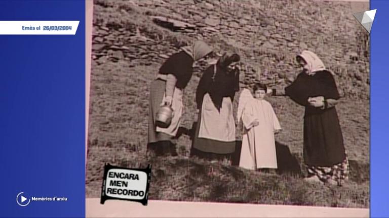 Memòries d'arxiu - Encara me'n recordo: el Pessebre Vivent d'Engordany (2a part)
