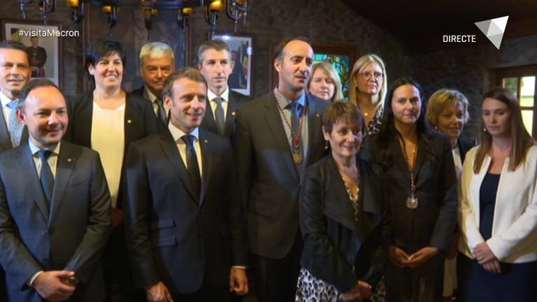 Especial ATV - El copríncep francès visita la Massana