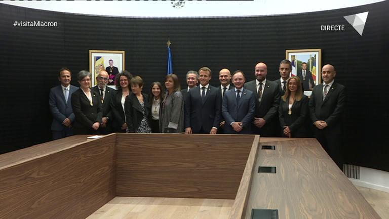 Especial ATV - La visita d'Emmanuel Macron a Escaldes-Engordany i Andorra la Vella