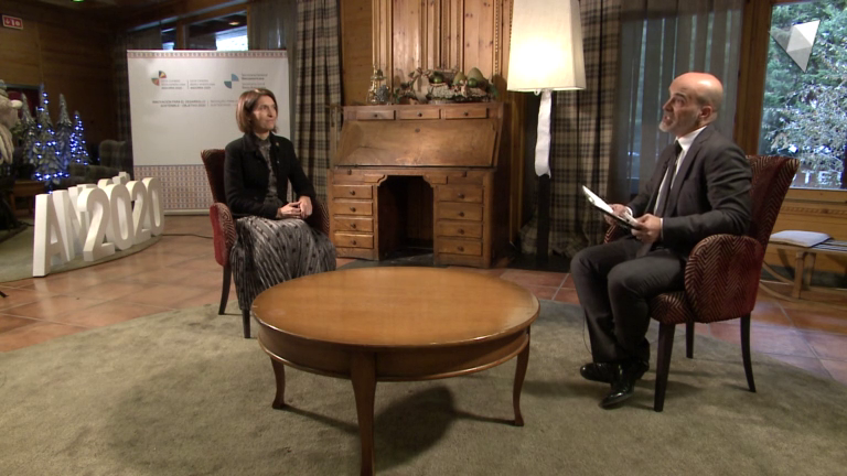 Entrevista a la ministra d'Afers Exteriors Maria Ubach