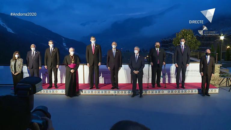 Acte inaugural de la XXVII Cimera Iberoamericana a Soldeu