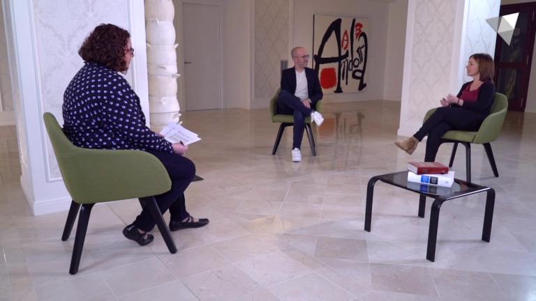 Joan Sans i Marta Pujol: polítiques lingüístiques, bilingüisme i promoció del català