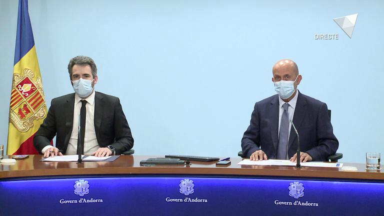 Roda de premsa COVID-19 i posterior al consell de ministres del 2 de juny del 2021