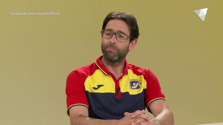 Dia E 1a part - Entrevista a l'entrenador de l'Andorra Hoquei Club Lluís Ferran Balart