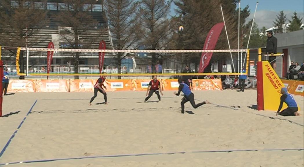 Folguera i Da Silva guanyen l'or de vòlei platja en una final agònica