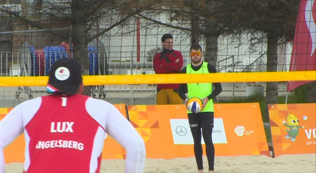 Da Silva i Folguera lluitaran demà per l'or en vòlei platja