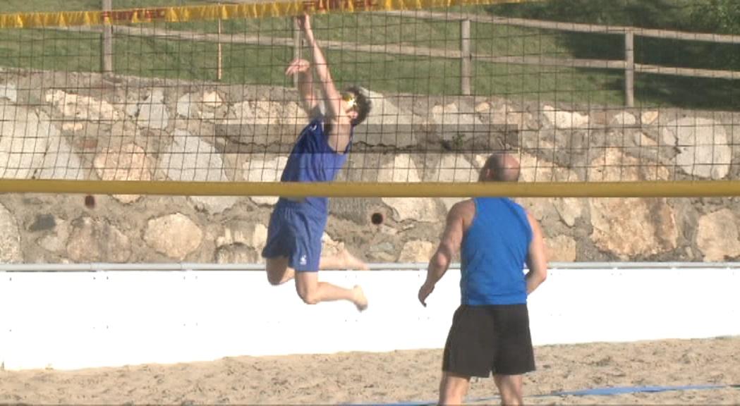 Xavi Folguera i Geni da Silva fan equip als Jocs