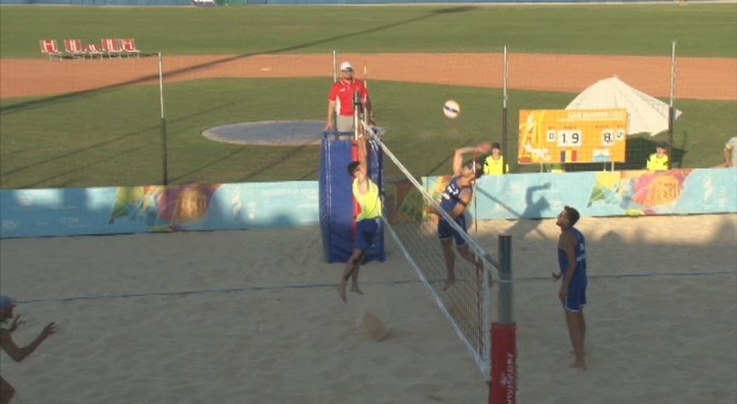 Xavi Folguera i Geni da Silva es classifiquen per a semifinals com a primers de grup