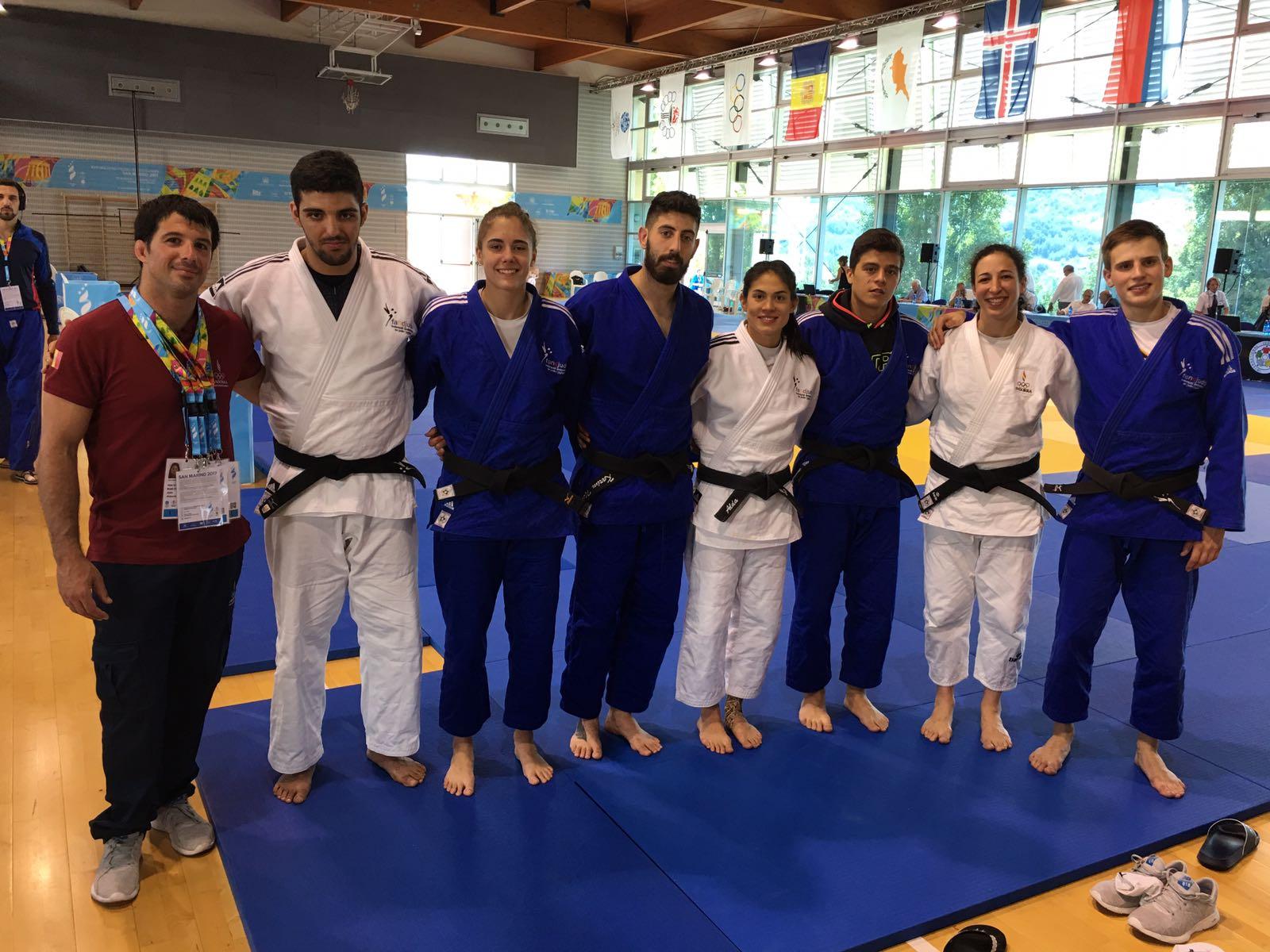 Sallés s'emporta l'únic metall individual del judo amb una plata