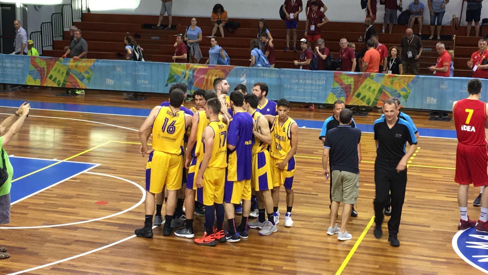 La favorita Montenegro es desfà amb facilitat de la selecció de bàsquet (49-90)