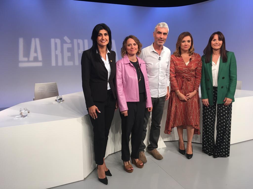 Tertúlia d'actualitat amb Rosa Gili, Marc Magallon, Carine Montaner i Mònica Bonell