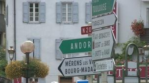 L'Arieja demana el suport d'Andorra en el projecte d'una autopista i una desviació per millorar els accessos
